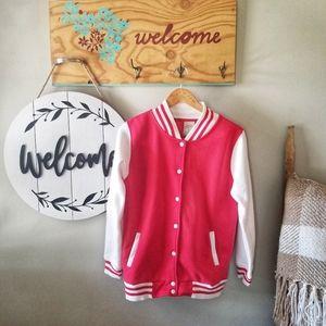 Women's Varsity Jacket by Uneek